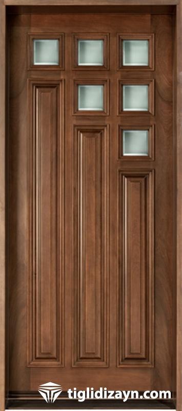 nostalji ahşap kapı modelleri