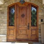 Birbirinden güzel En şık ahşap dış kapı dizaynları