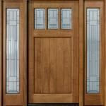 Açık renk Ahşap Kapı modelleri
