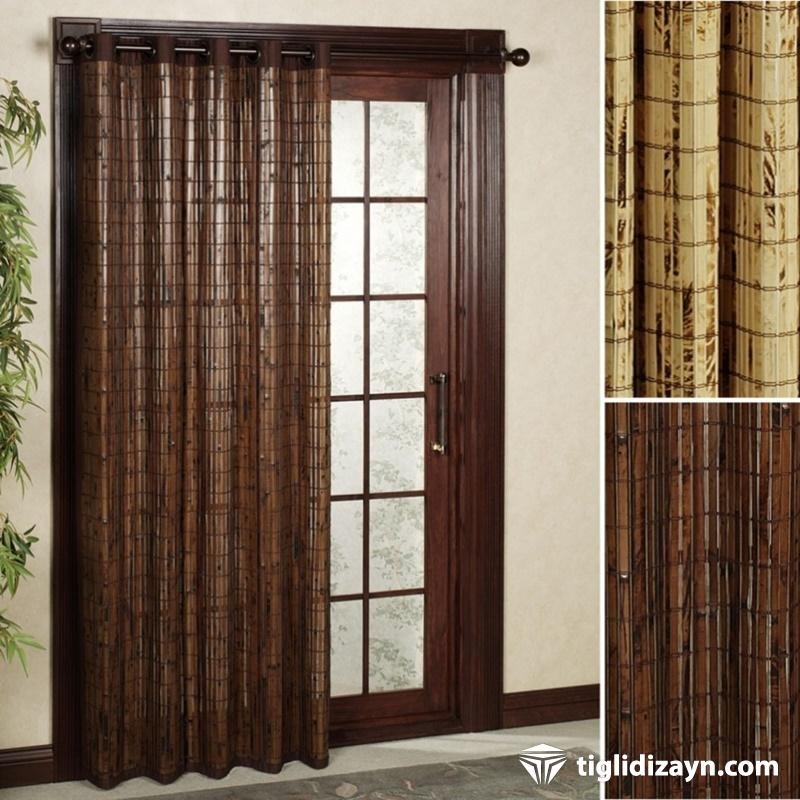 Modern ahşap kapılar
