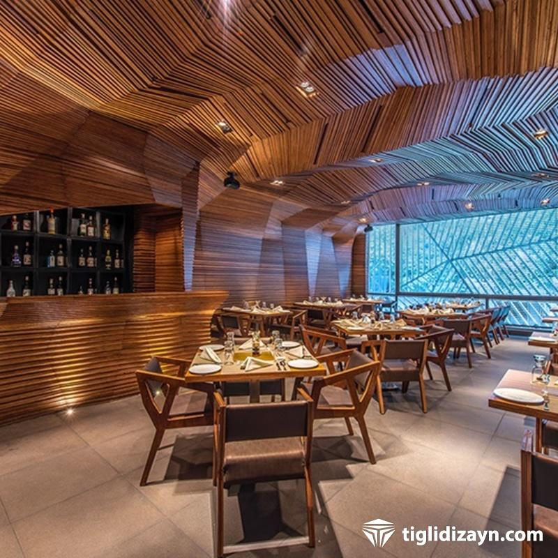Restaurant tavan dizaynları