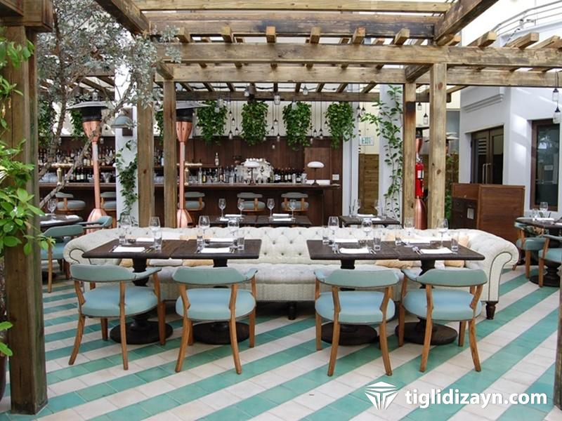 Ahşap cafe dizayn www.tiglidizayn.com