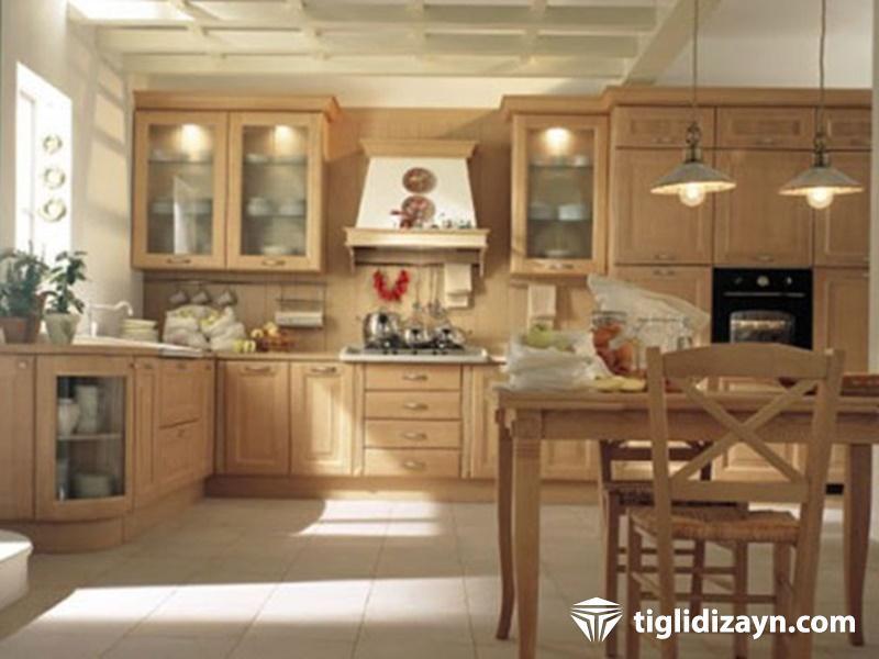 2016 ahşap daire ve mutfak dizaynları