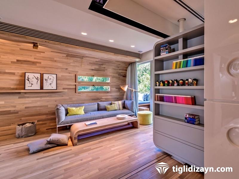 Ahşap daire iç dizayn www.tiglidizayn.com