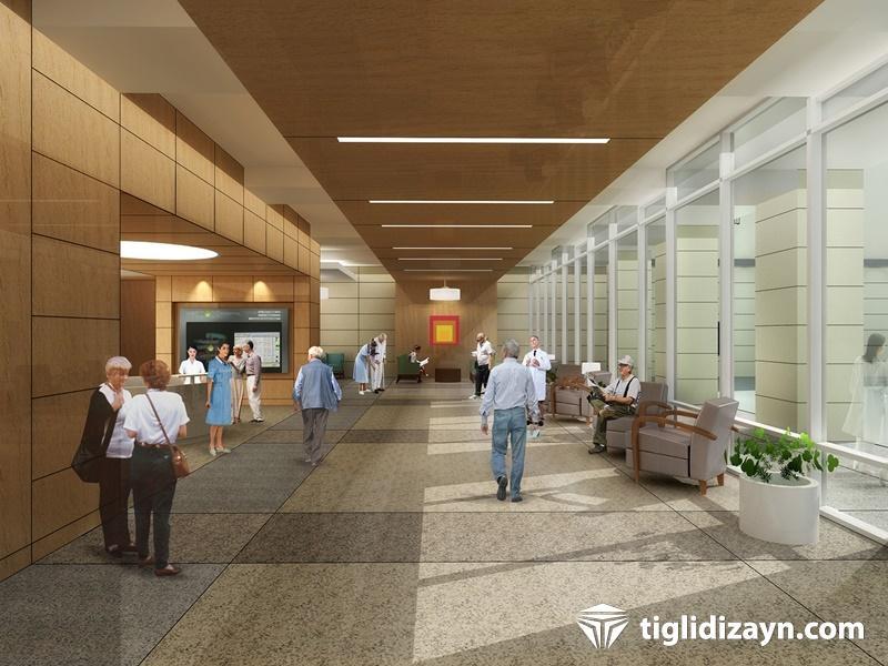 Hastane konsept iç dizayn ürünleri