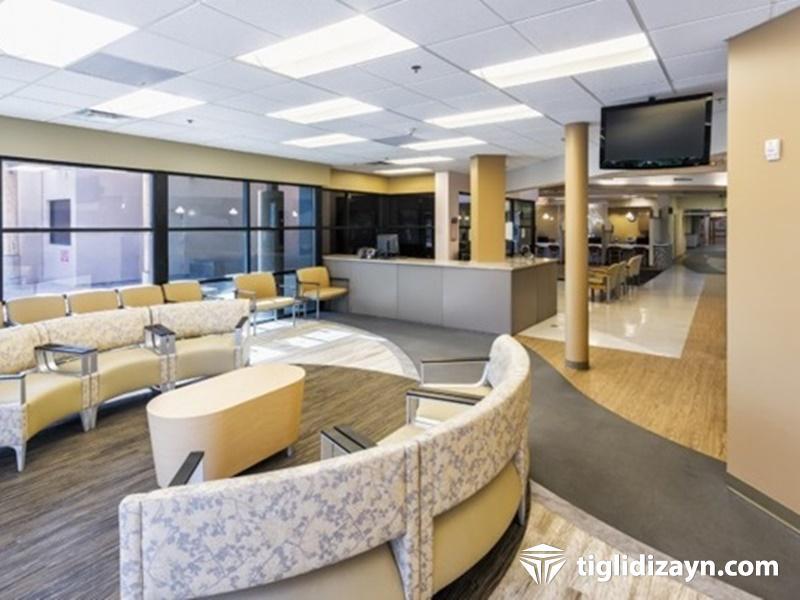 Hastane içi bekleme salonu dizayn resimleri 5