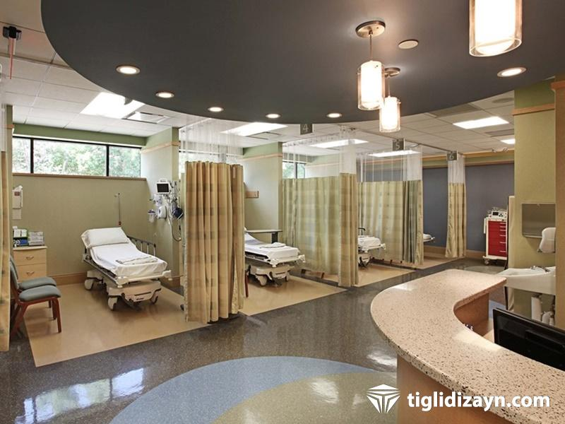 Hastane acil bölümü dekorasyon firması
