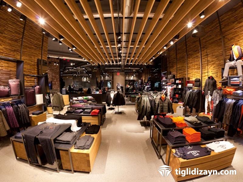 Ahşap Mağaza İç Dizayn Firması - İstanbul