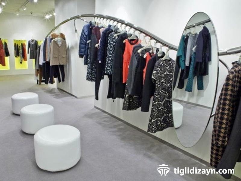 Değişik mağaza içi dizayn çalışmaları