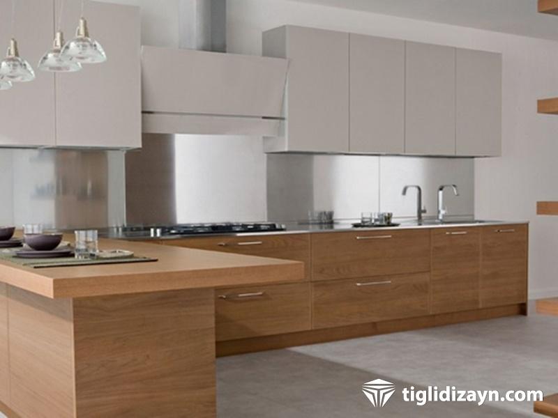 Ahşap mutfak dekorasyon örnekleri