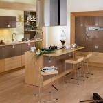 2016 Ahşap mutfak dekorasyon örnekleri
