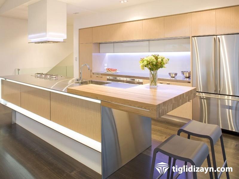 Modern Mutfak dekor ekipmanları