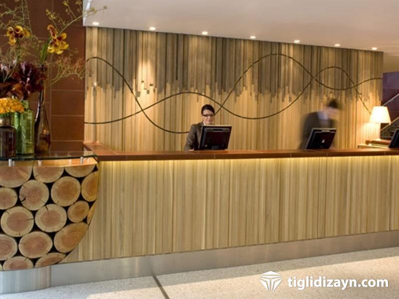 Ahşap otel resepsion tasarrımları2