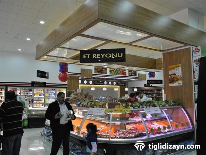 kasap reyon örnekleri market tasarımları