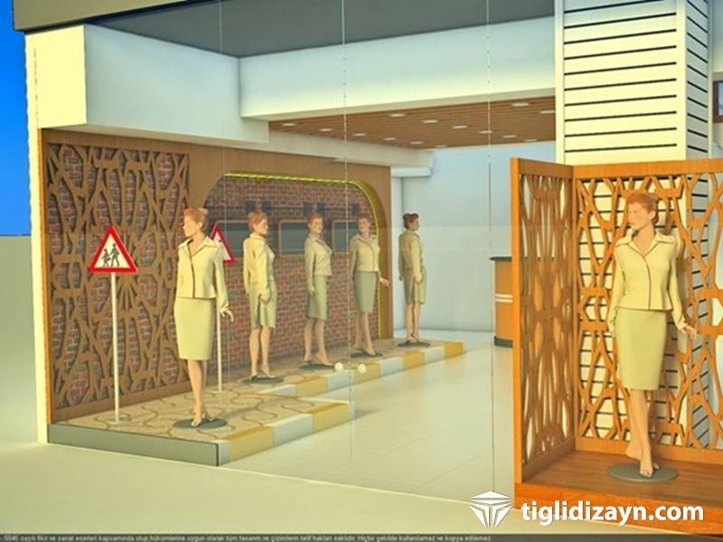 Ahşap mağaza dekorasyonu ahşap dükkan modelleri mağaza raf sistemleri merter...